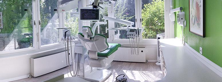 Orthodontie Lausanne, fauteuil de soin